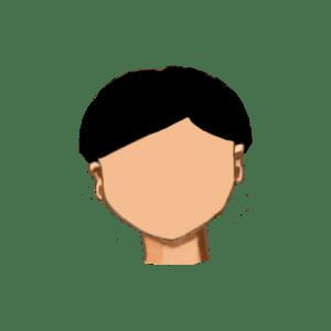 15. Corte chino liso sin flequillo