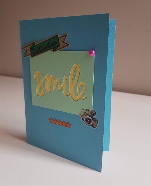 """Tarjeta """"Smile"""""""