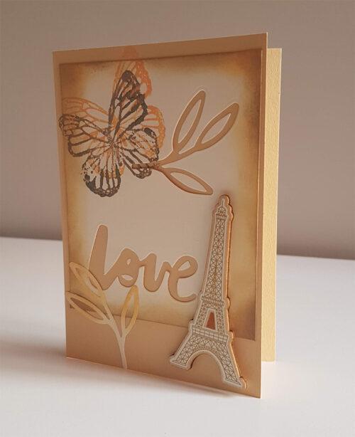 "Tarjeta ""Paris"""