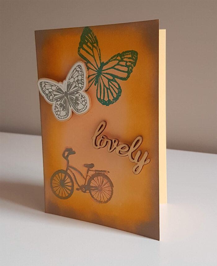 """Tarjeta """"Butterfly"""""""